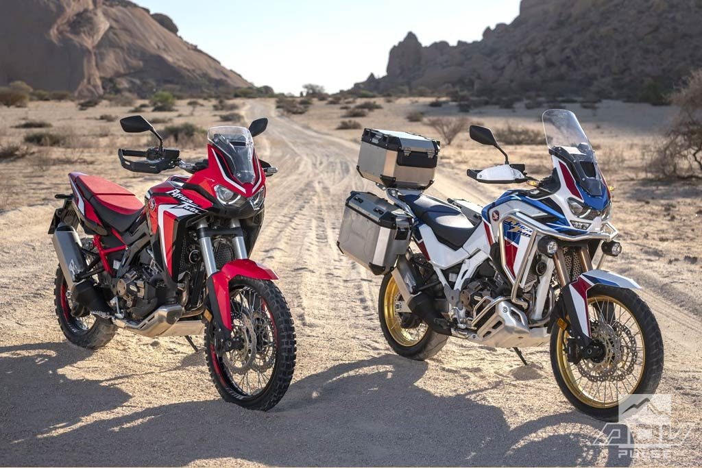 2020 Honda Africa Twin CRF1100L and Africa Twin Adventure Sports CRF1100L2