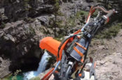 Rider Plunges Down Terrifying Cliff, Lives To Tell About It