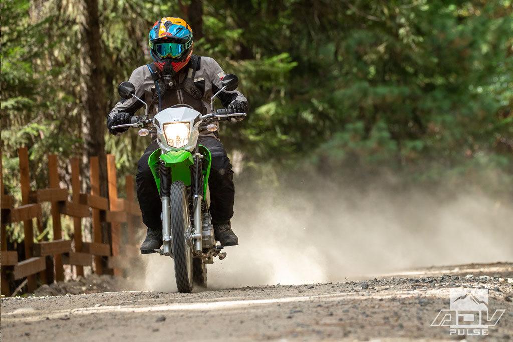 2020 Kawasaki KLX230 test