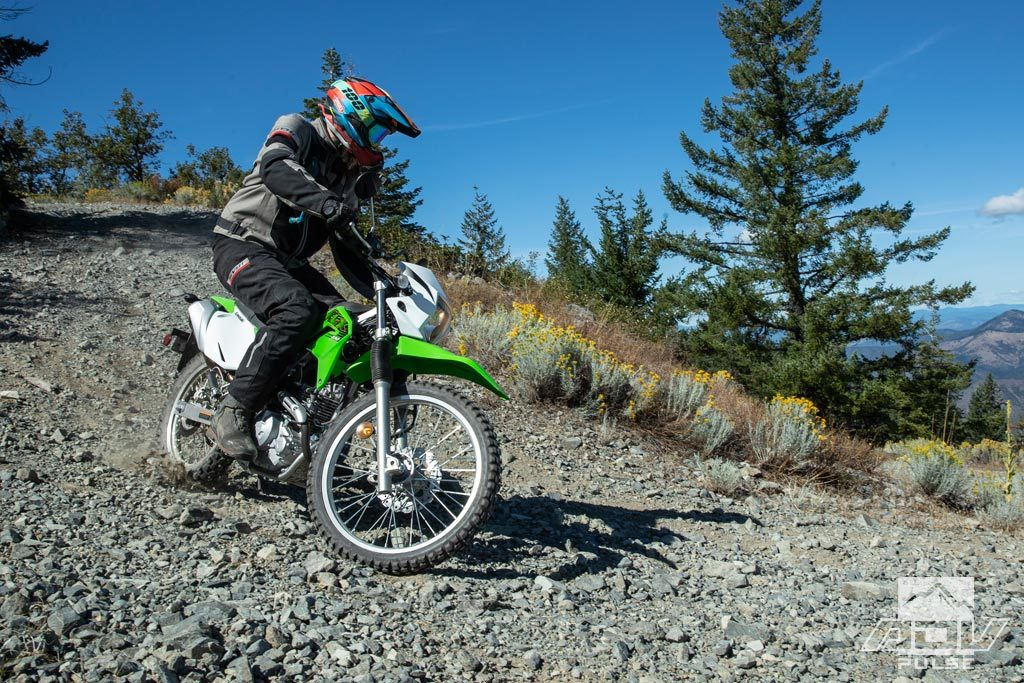 Off-road testing the KLX230