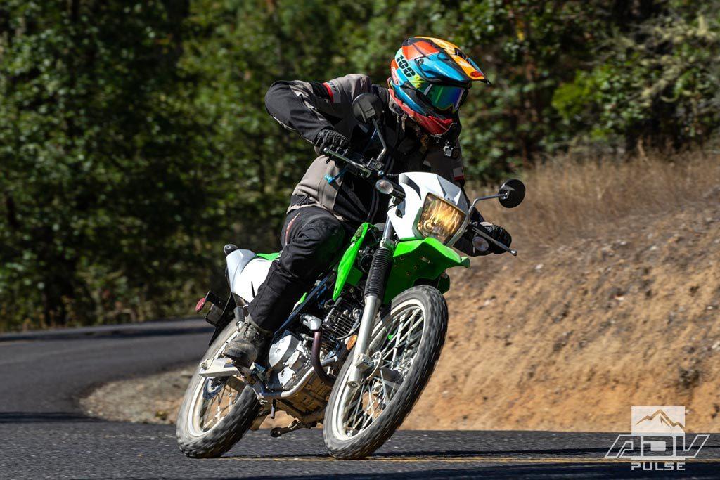 Kawasaki KLX230 street test