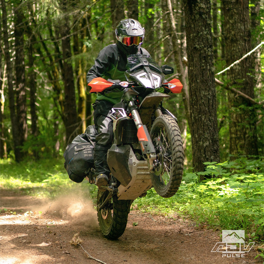 Testing the Mosko Moto Basilisk suit in the PNW.