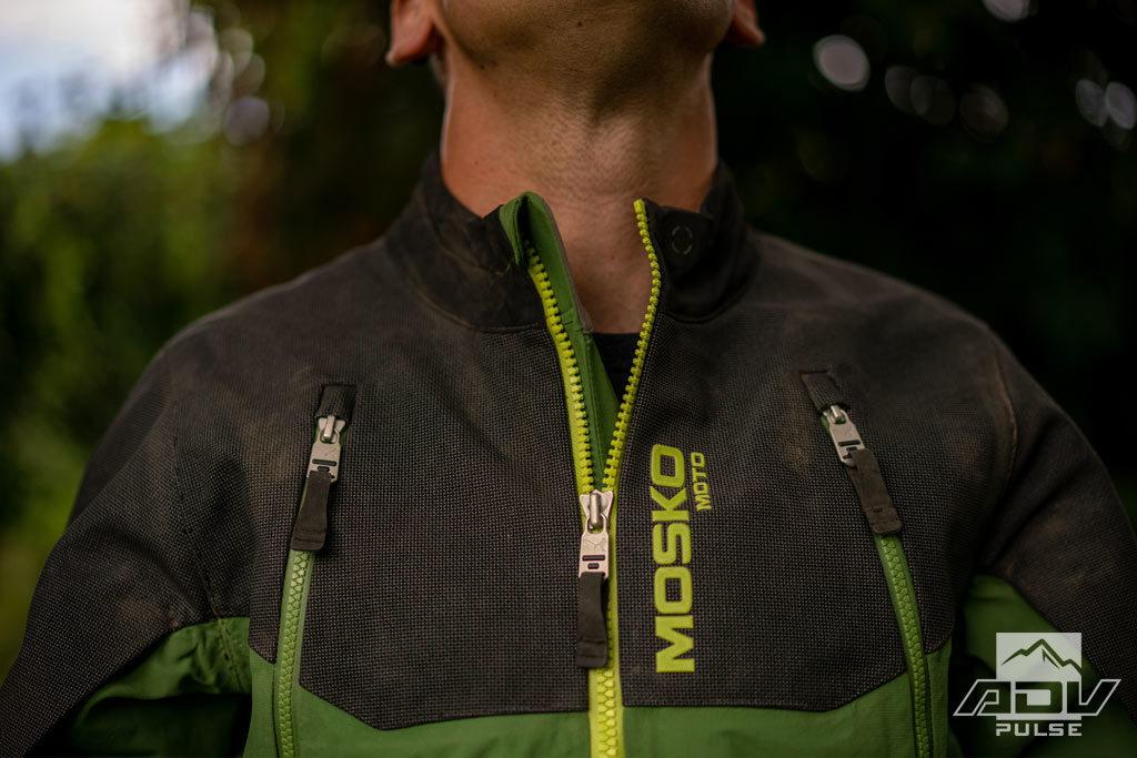 Mosko Moto Basilisk Jacket collar