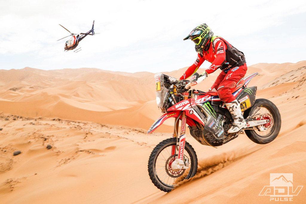 Motul Synthetic Oil Dakar Rally Sponsor