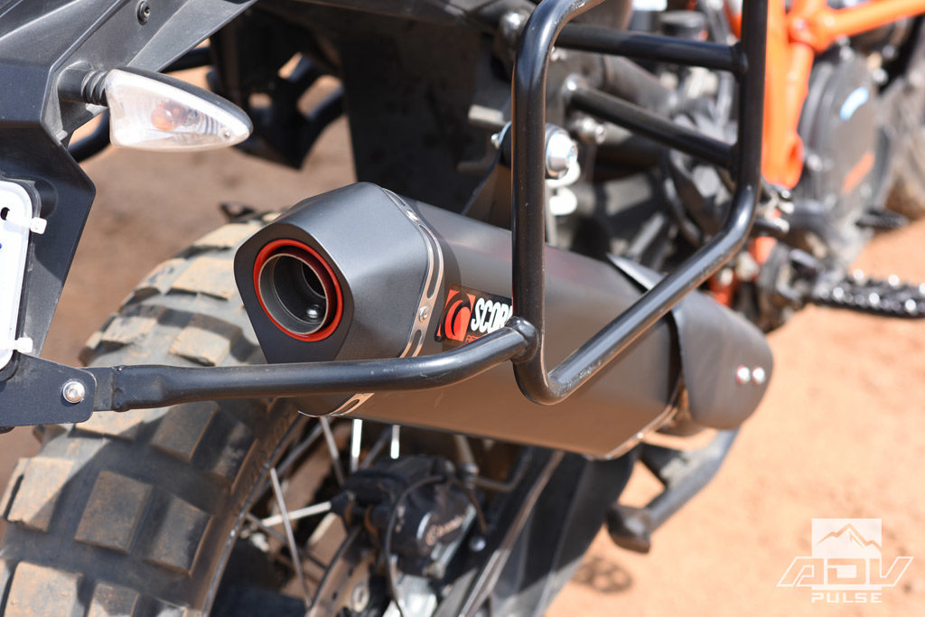 KTM 1090 Adventure Scorpion Serket Parallel Slip-on exhaust