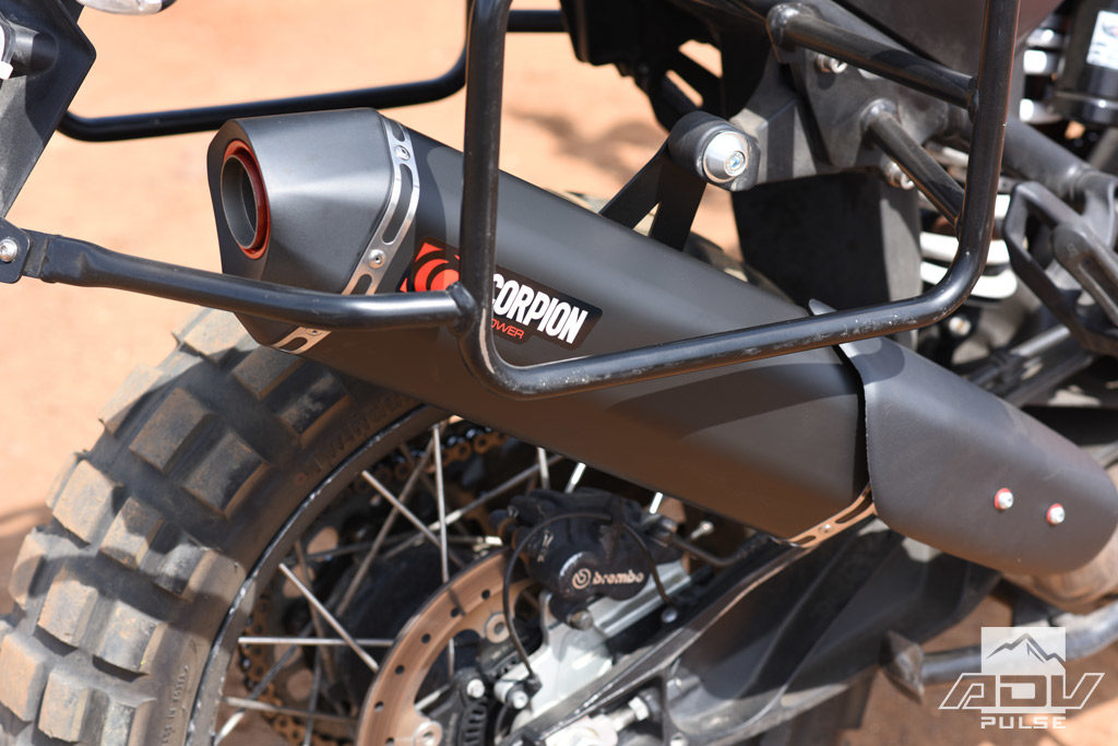 Tested: Scorpion Slip-On Exhaust for the KTM 1090 Adventure R - ADV Pulse