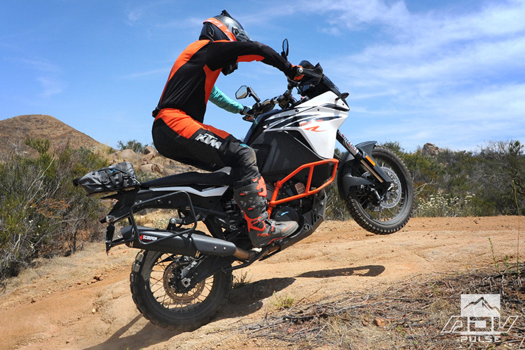 KTM 1090 Adventure slip-on exhaust