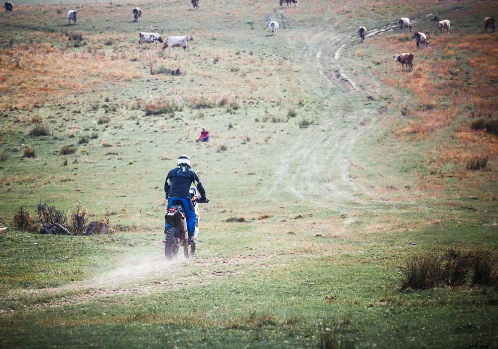 Riding Romania Trans Euro Trail