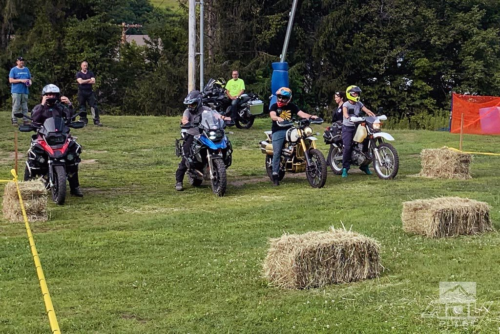 Touratech DirtDaze Rally slow race