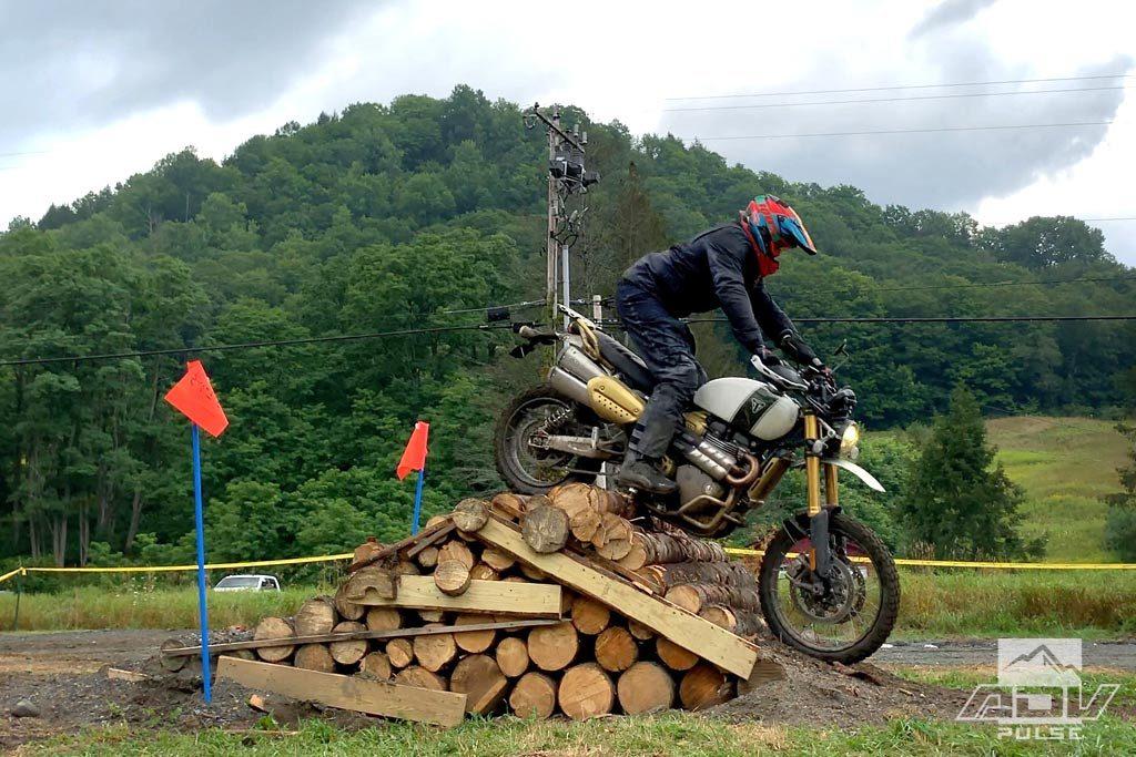 Log obstacle