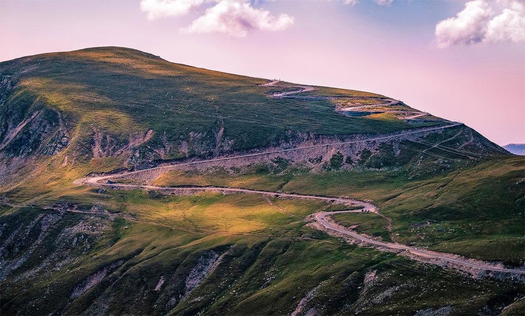 Riding Romania Carpathian Mountains