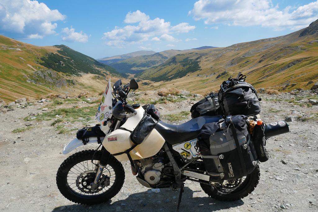 Riding Romania off-road