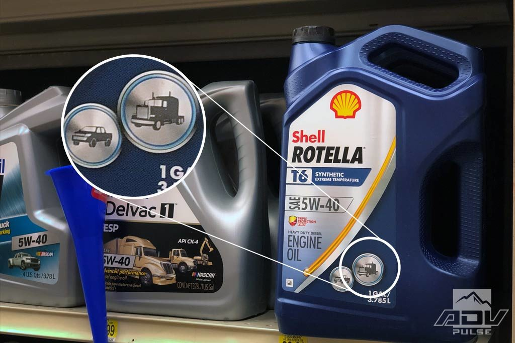 synthetic oil designed for diesel engines.