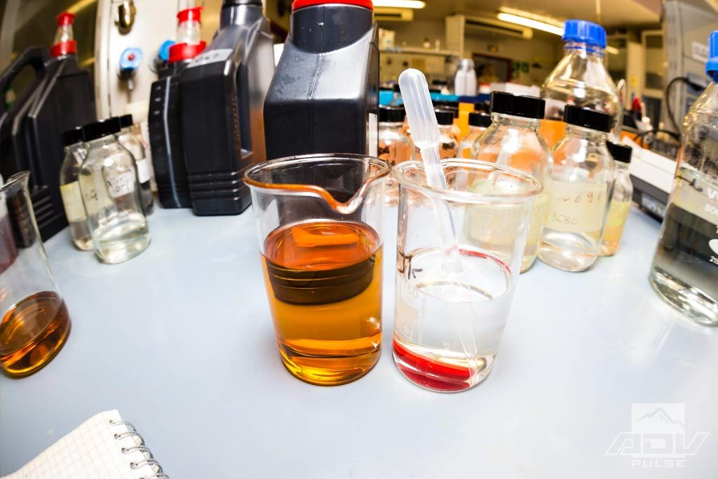 synthetic oil made in a lab