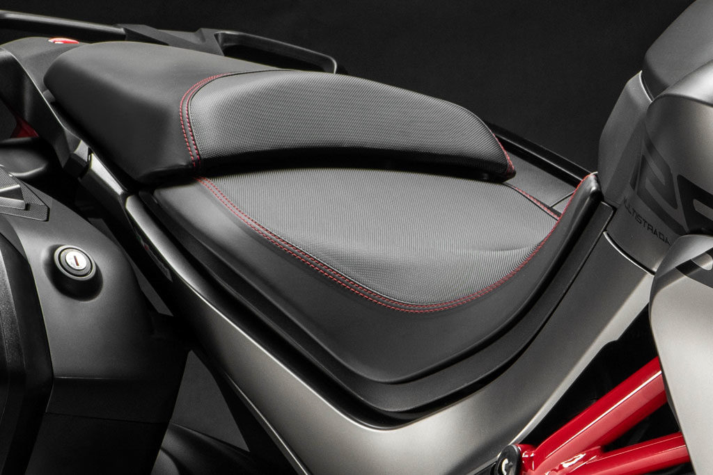 Ducati Multistrada 1260 S Grand Tour special edition seat