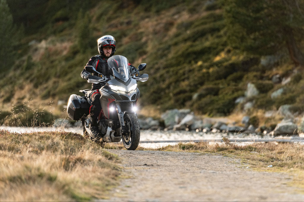 Ducati Multistrada 1260 S Grand Tour beyond pavement