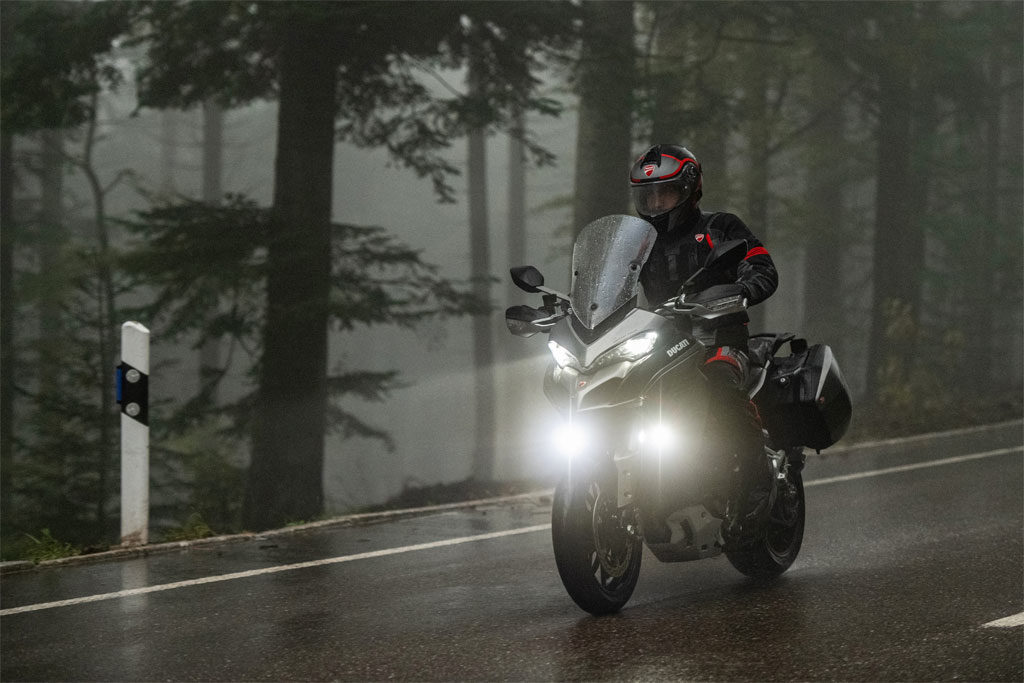 Ducati Multistrada 1260 S Grand Tour on road