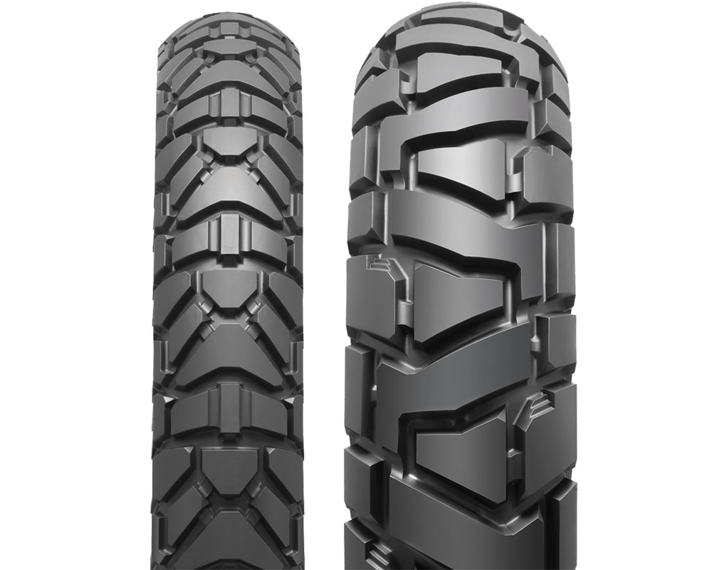 Dunlop Trailmax Mission dual sport tire tread pattern