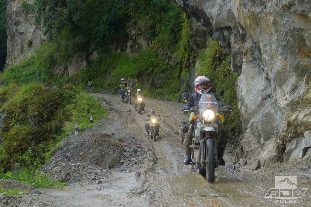 Motorcycle journey to Everest on Royal Enfield Himalayan