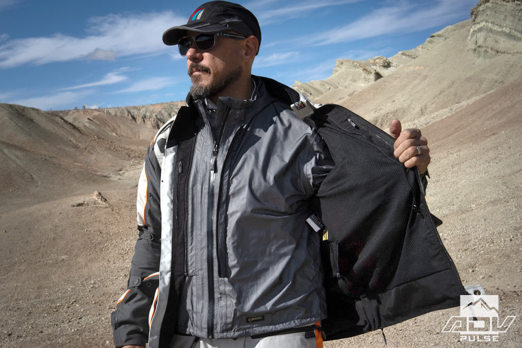Rukka Roughroad Adventure Suit inner liners with Outlast technology