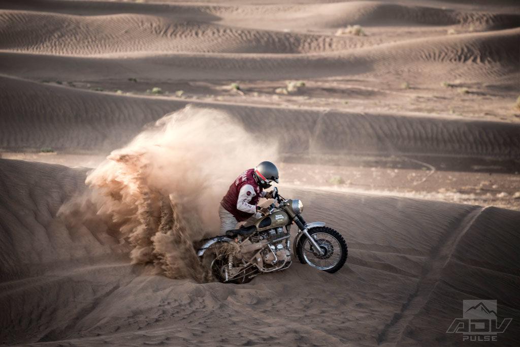 Stuck in sand Scram Africa