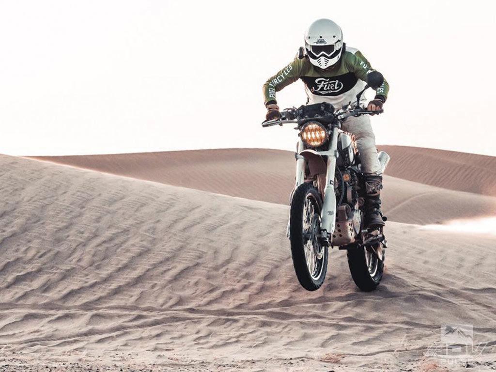 Scram Africa custom dual sport