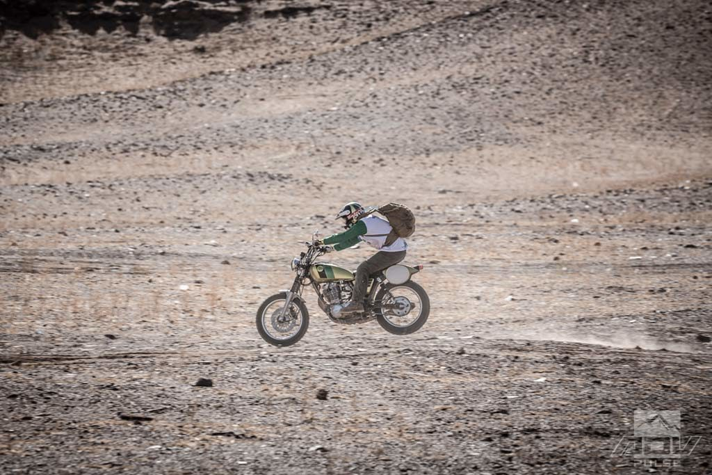Riding the Scram Africa