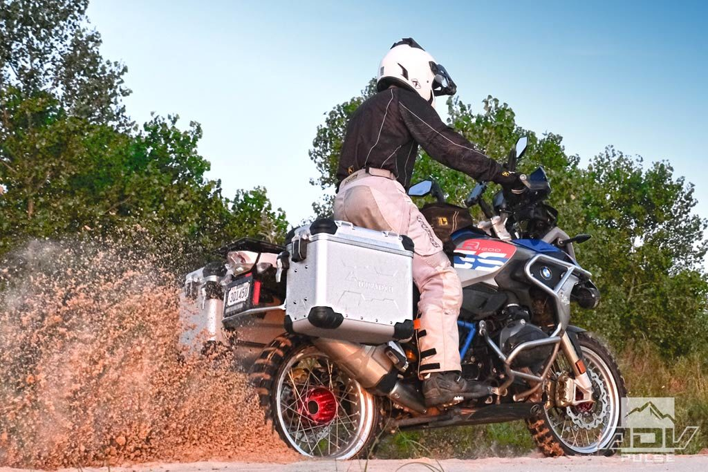Touratech panniers for the BMW R1200GS