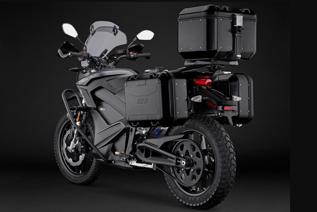 Zero DSR Black Forest with GIVI luggage