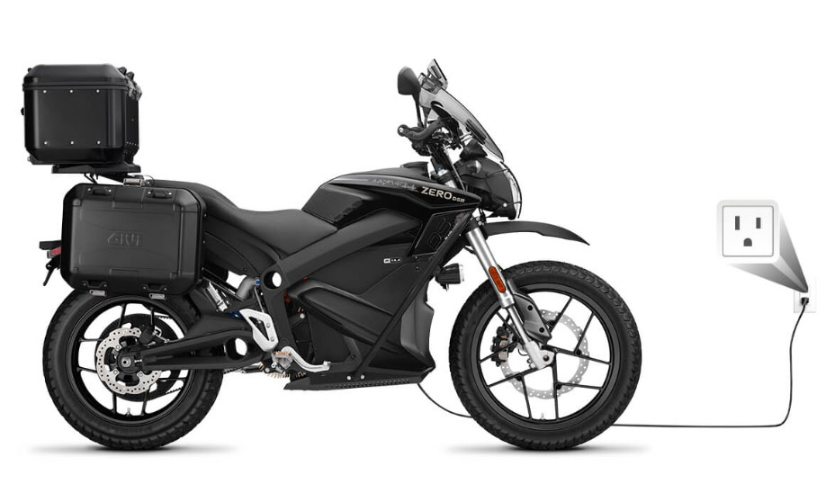 Zero motorcycles charging