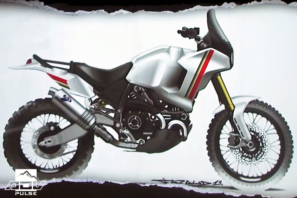 Ducati Desert X Concept Adventure bike