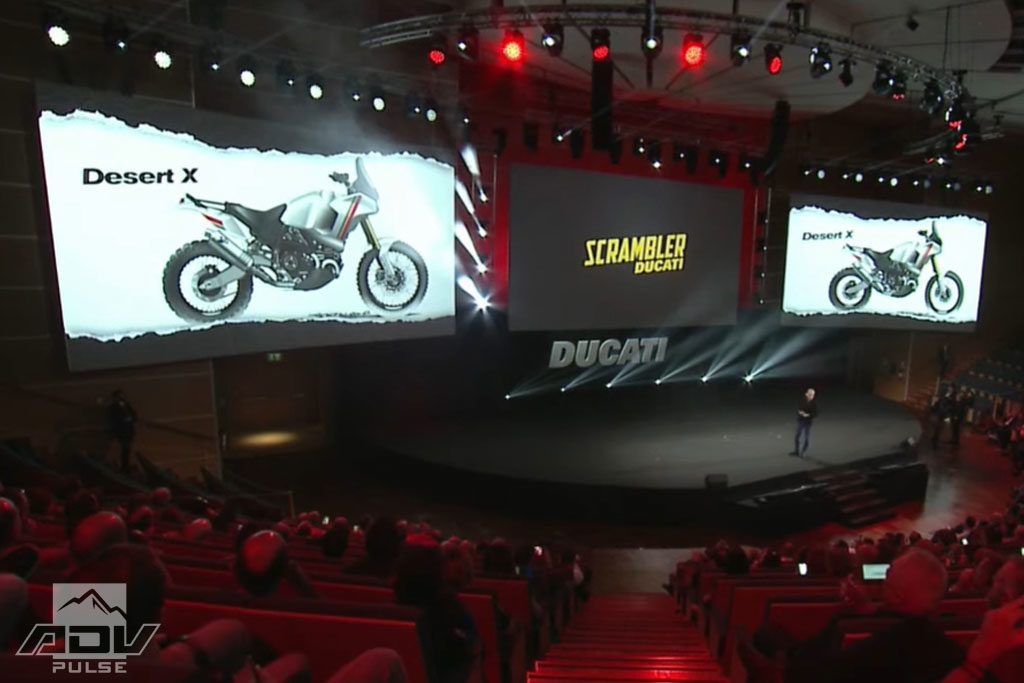 Ducati Desert X adventure bike preview