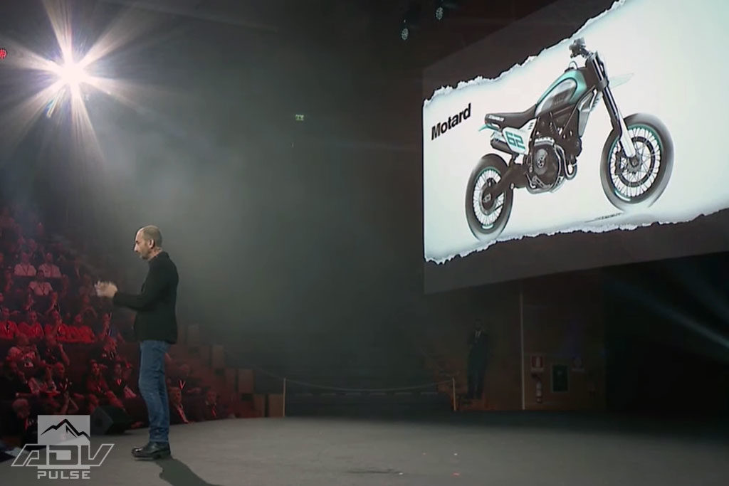 Ducati Motard concept motorcycle preview