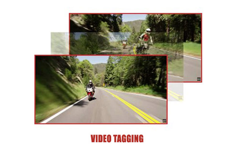 Sena 10C EVO Video Tagging