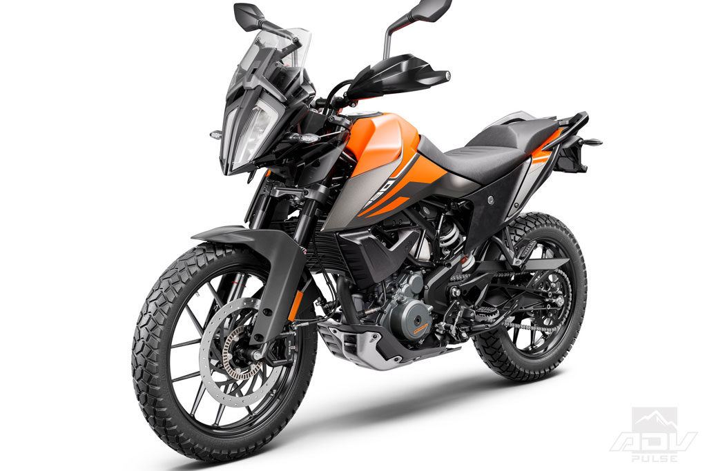 lightweight adventure bike from KTM