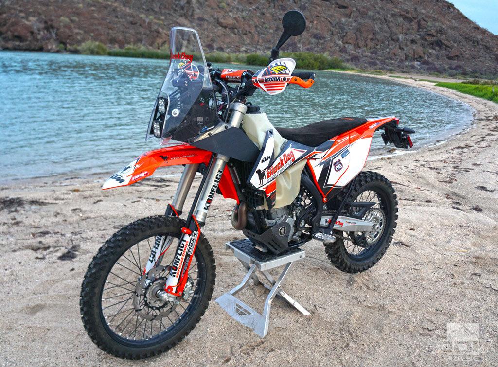 500 EXC-F Bike Build