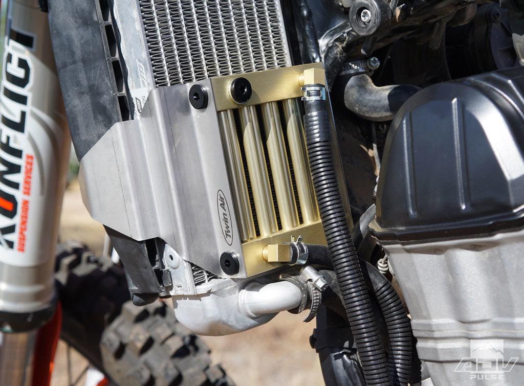 KTM 500 EXC oil cooler