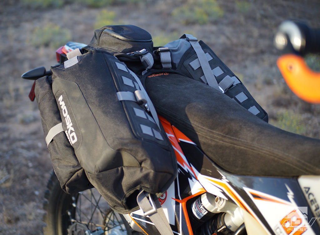 KTM 500 EXC soft luggage