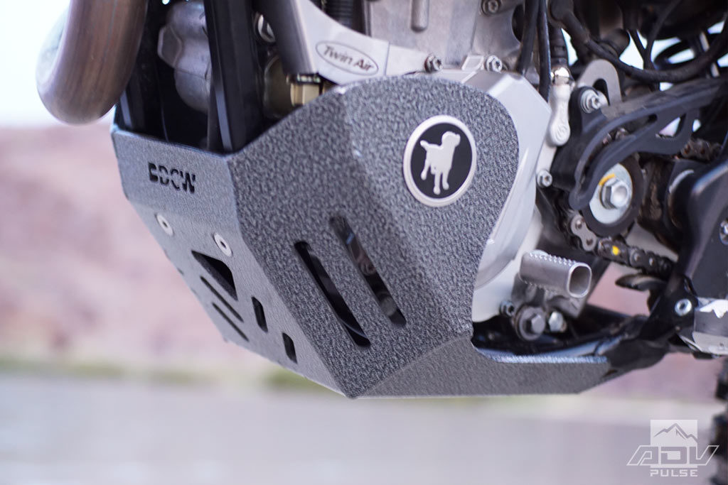 KTM 500 EXC Black Dog Skid Plate