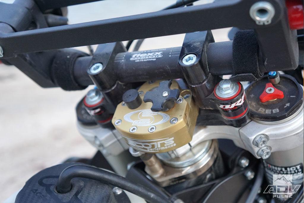 KTM 500 EXC steering damper