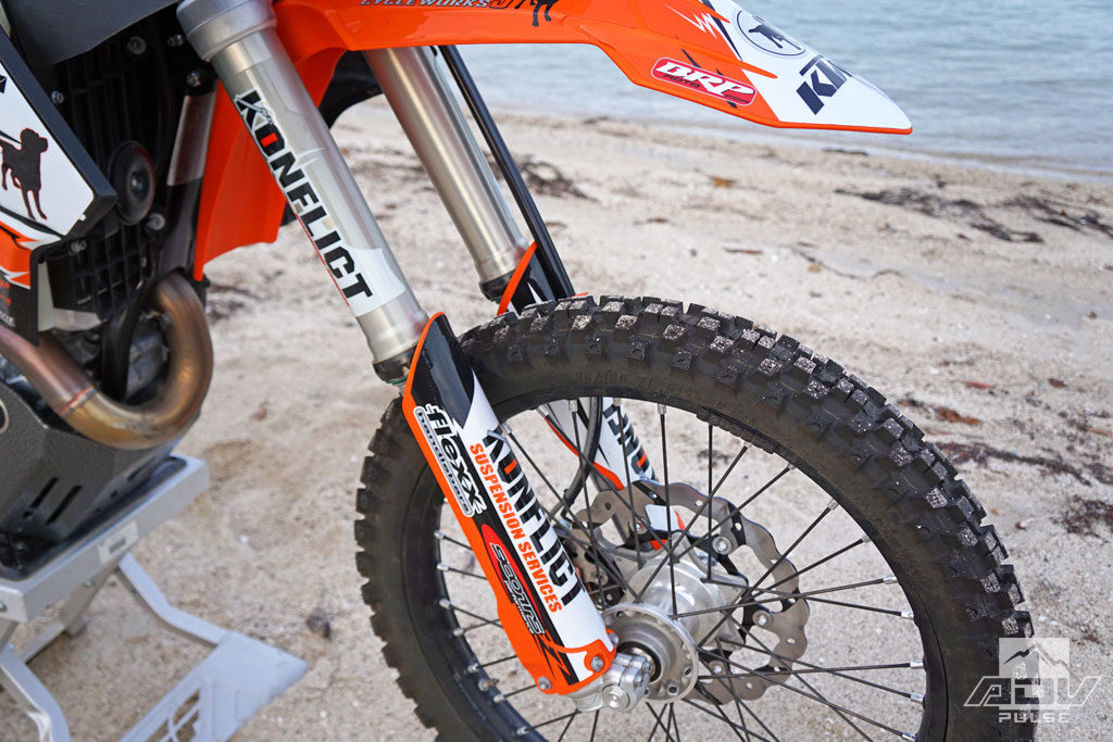 KTM 500 EXC aftermarket suspension