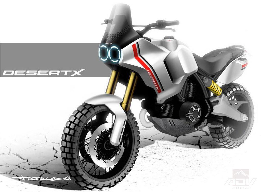 Ducati Desert X Concept Adventure bike