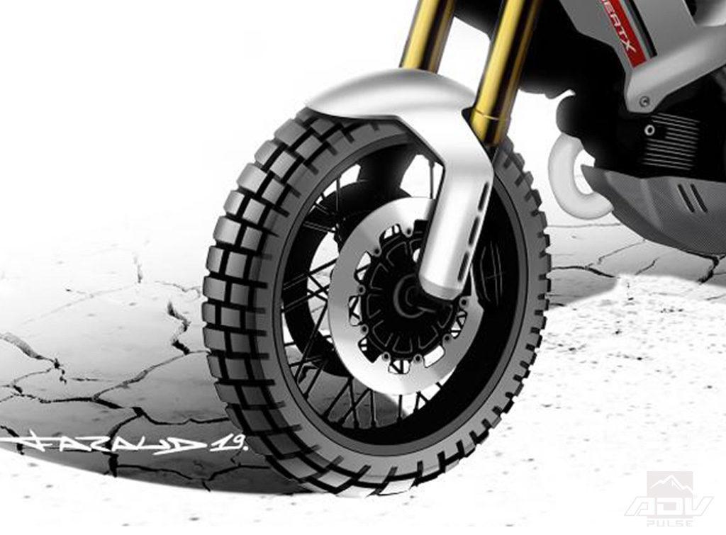 Ducati Desert X front wheel