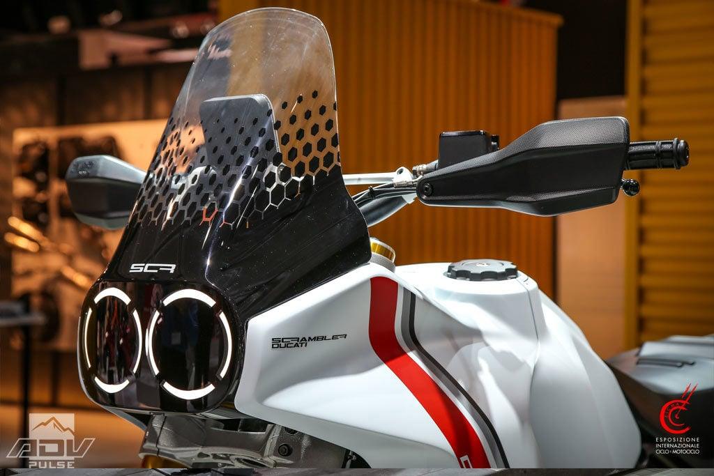 Ducati Desert X fairing