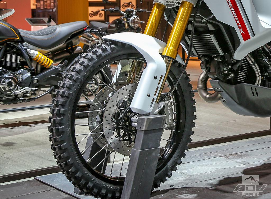 Ducati Desert X wheels