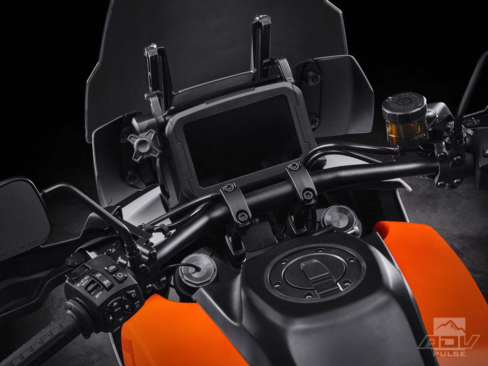Harley Davidson Pan America instrument panel