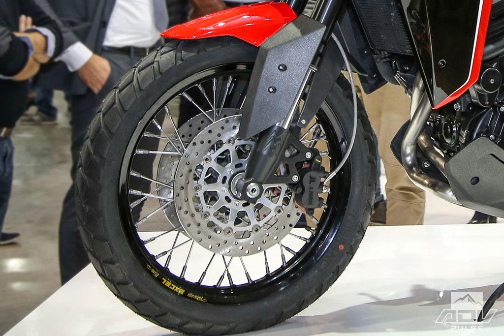 Moto Morini X Cape wheels