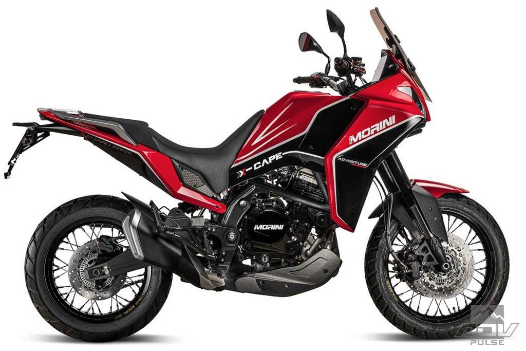 Moto Morini X Cape Adventure bike