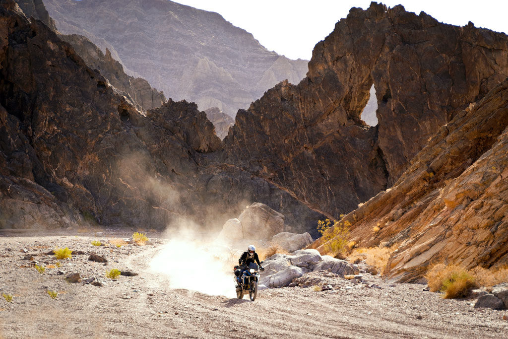 Riding Death Valley