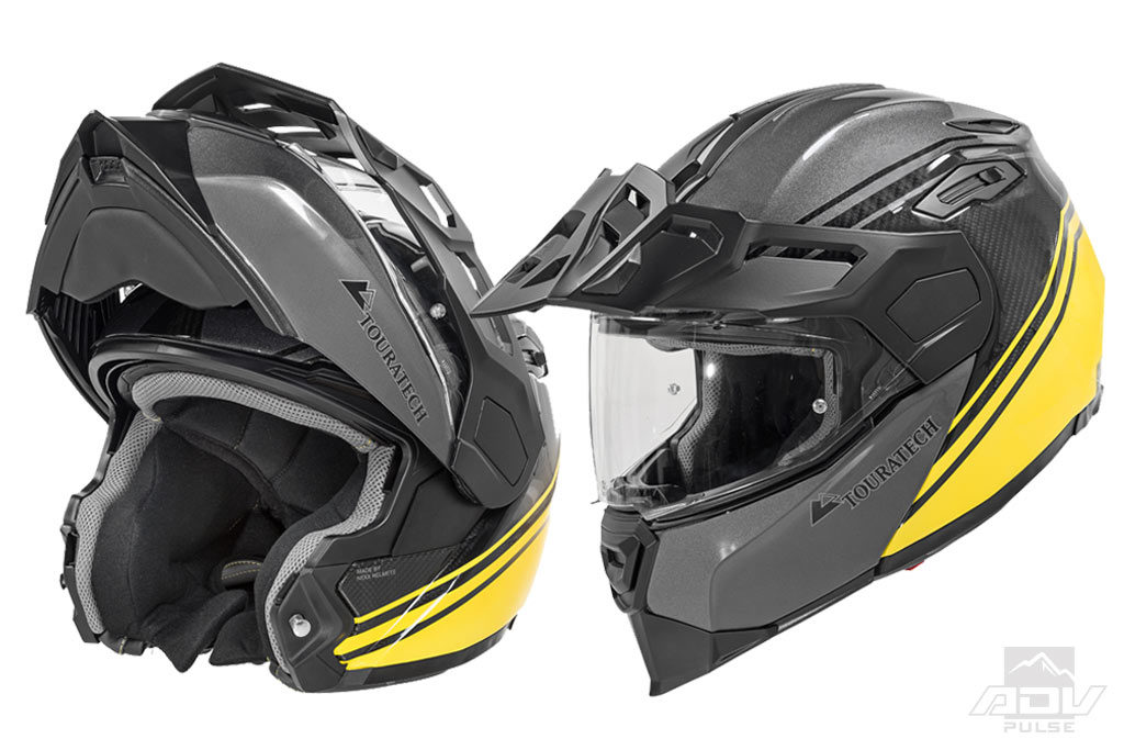 Touratech Aventuro Traveller Modular Helmet Launched